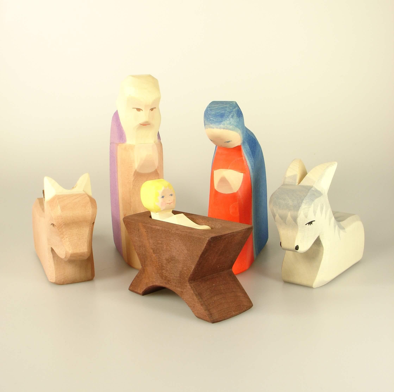 ostheimer krippe gro e auswahl an holzfiguren jetzt online shoppen. Black Bedroom Furniture Sets. Home Design Ideas