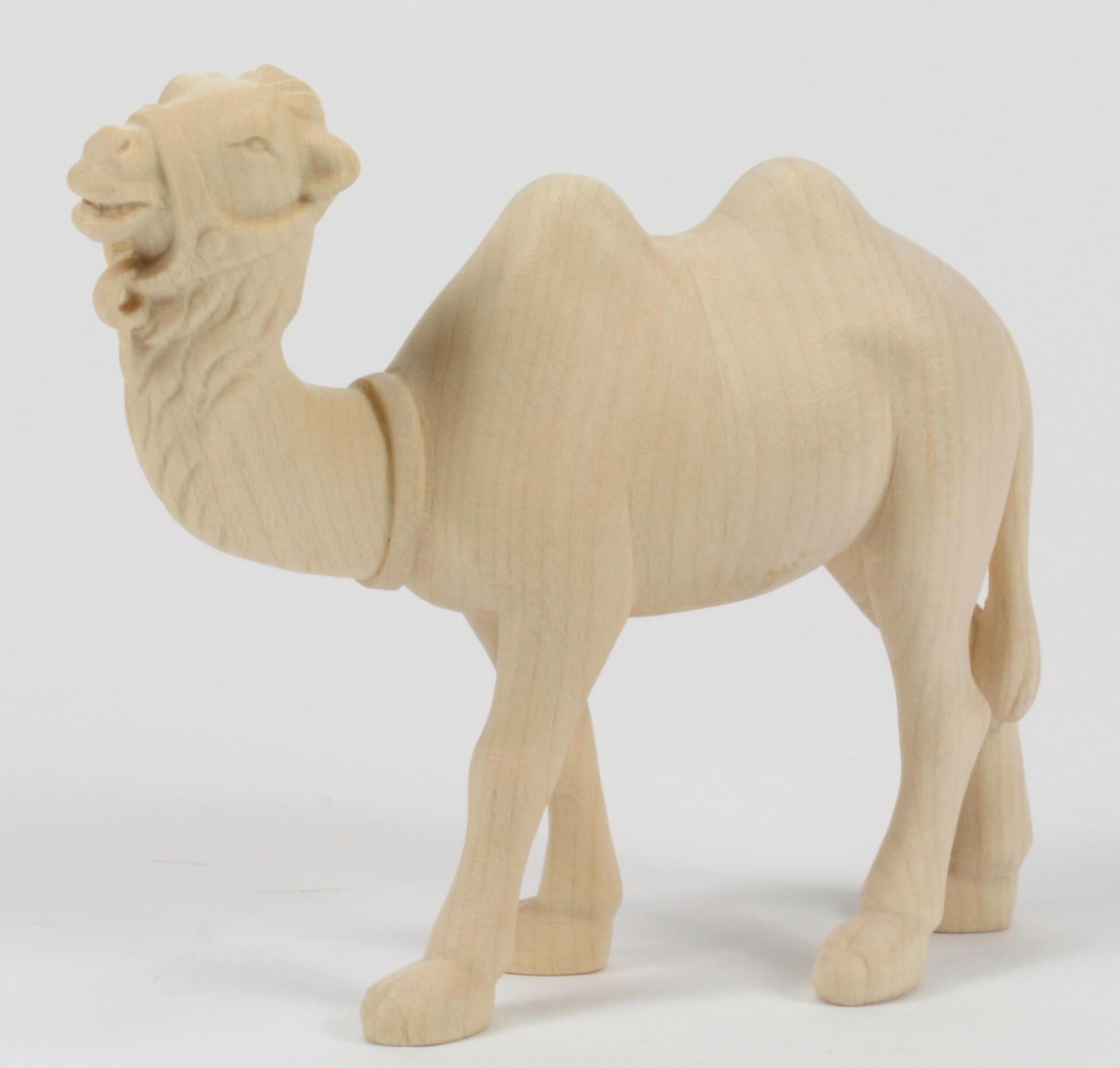 Georg krippe kamel stehend modern 9 cm serie natur - Krippe modern holz ...