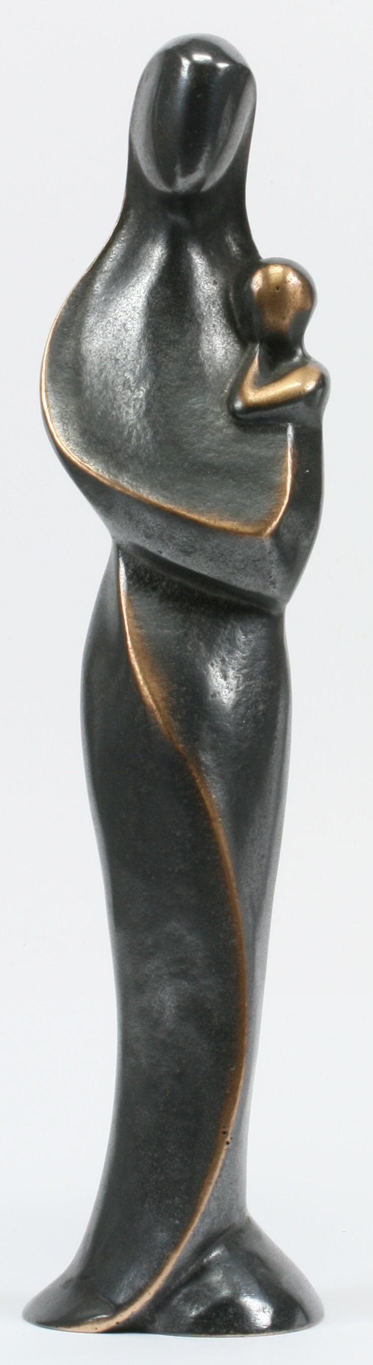 Bronze madonna modern 27 cm for Osterkerzen modern