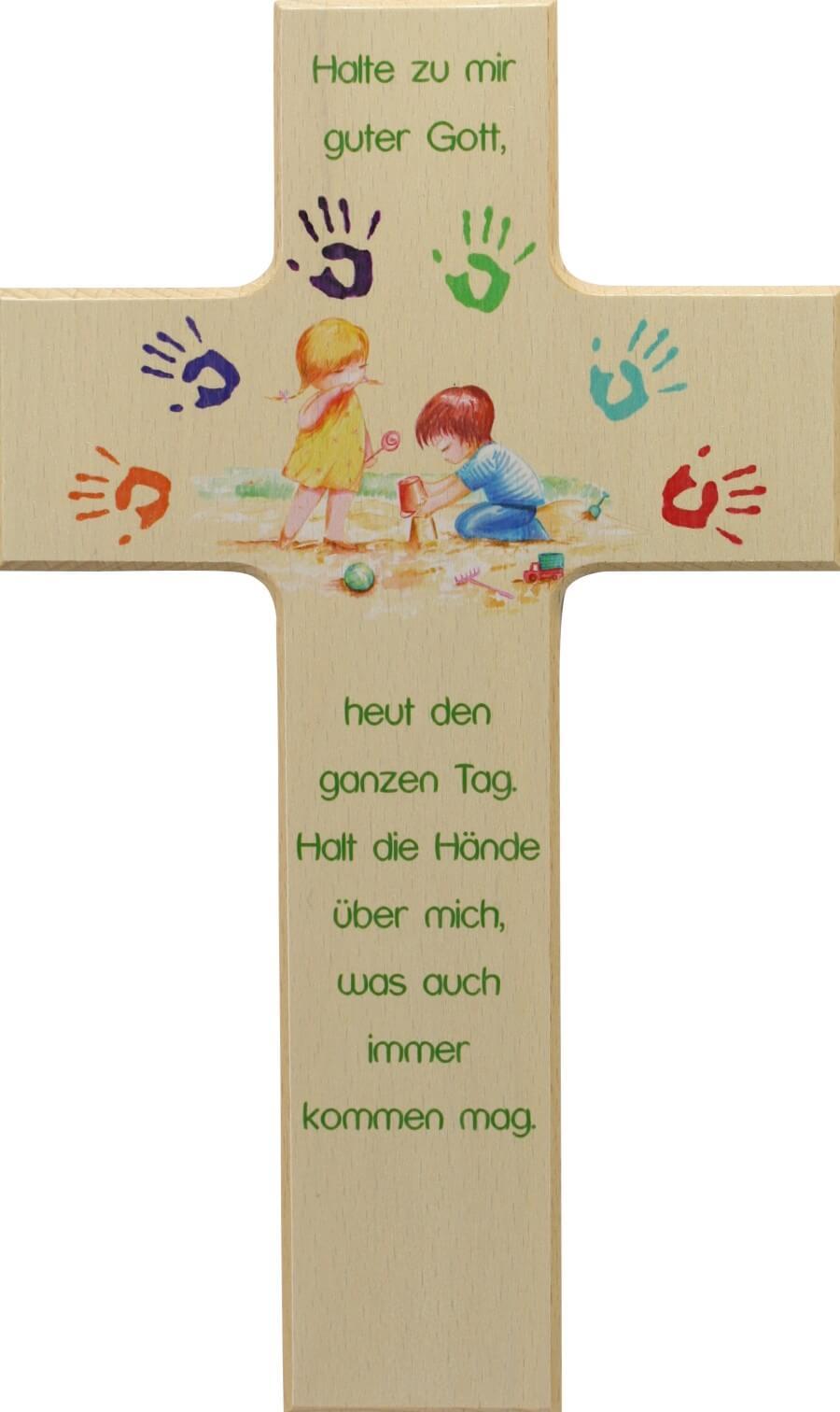 Kinderkreuz - Halt die Hände über mich