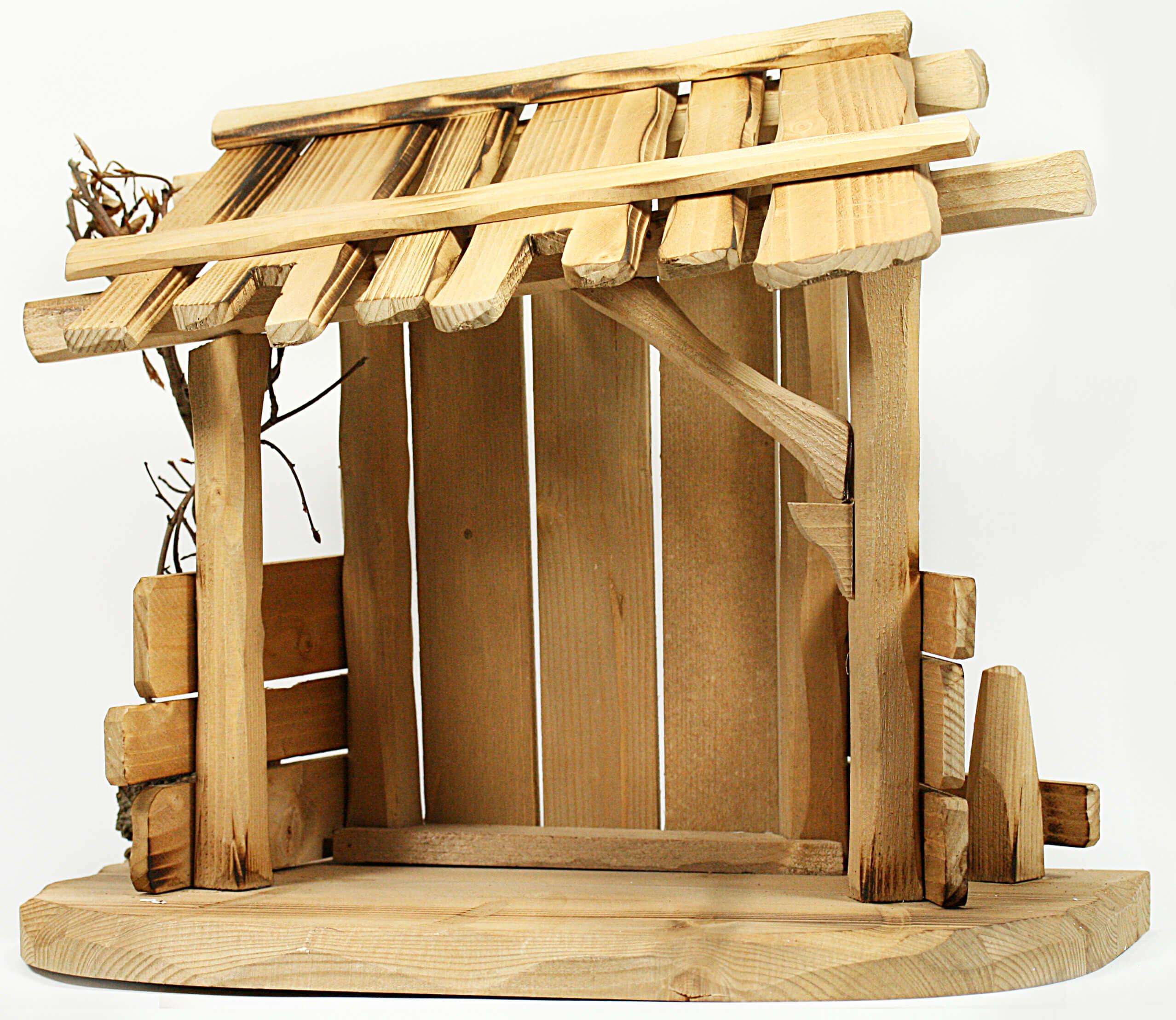 karl kuolt krippe stall 7 5 cm serie natur. Black Bedroom Furniture Sets. Home Design Ideas