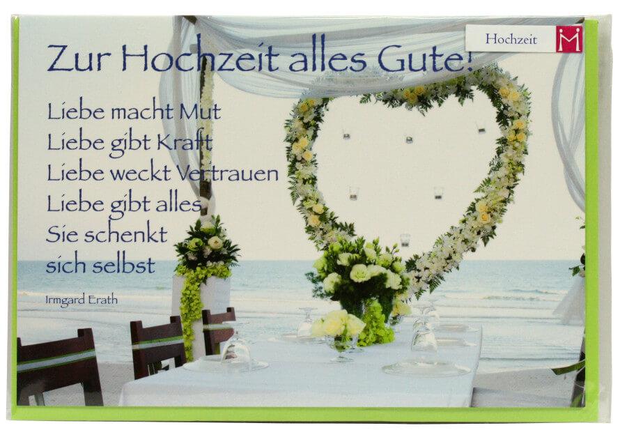 Karte Zur Hochzeit Liebe Gibt Alles