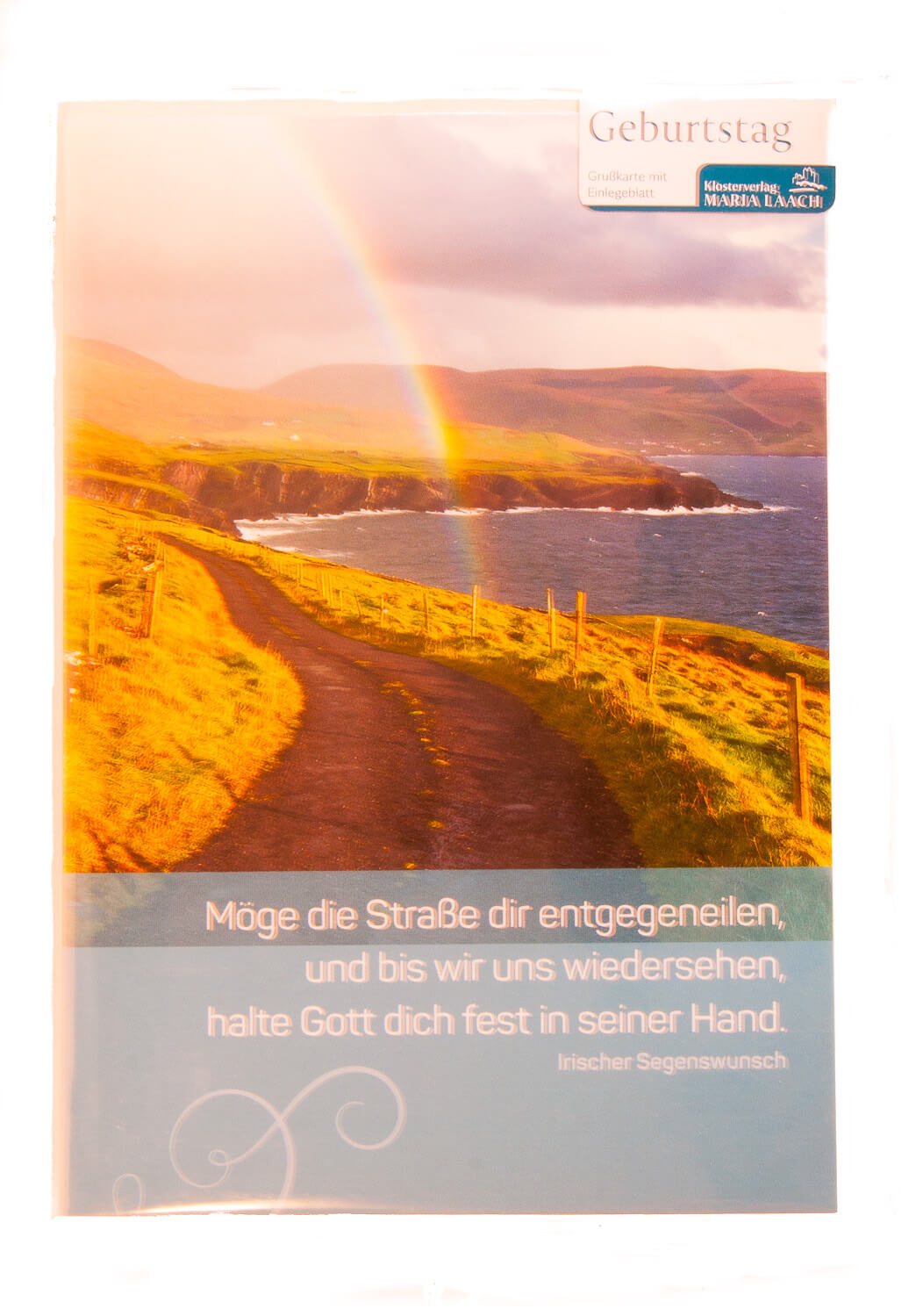 Karte Zum Geburtstag Halte Gott Dich Fest In Seiner Hand