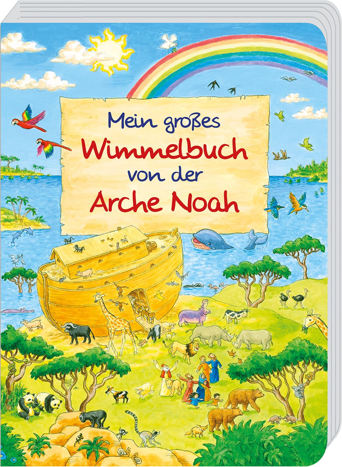kinderbuch  mein großes wimmelbuch von der arche noah