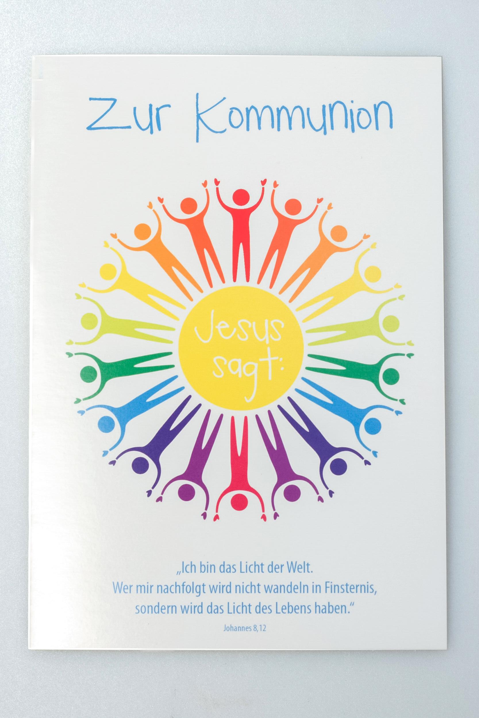 Kommunion Karte Schreiben.Kommunionkarte Menschenkreis