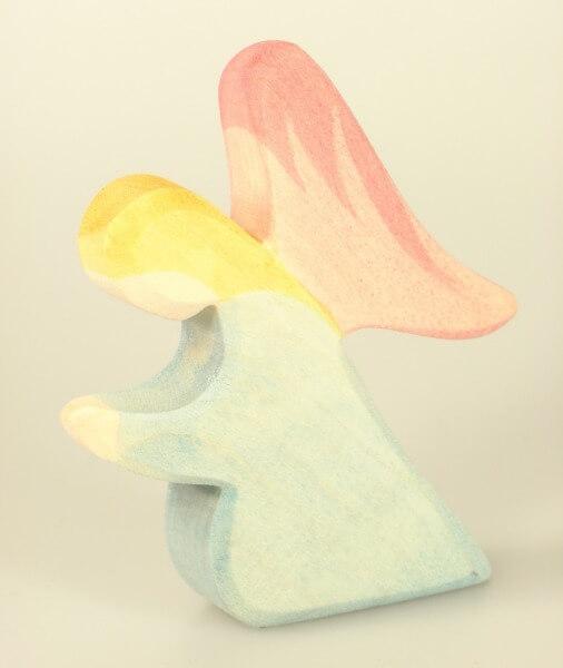 Ostheimer Krippe - Engel blau, knieend