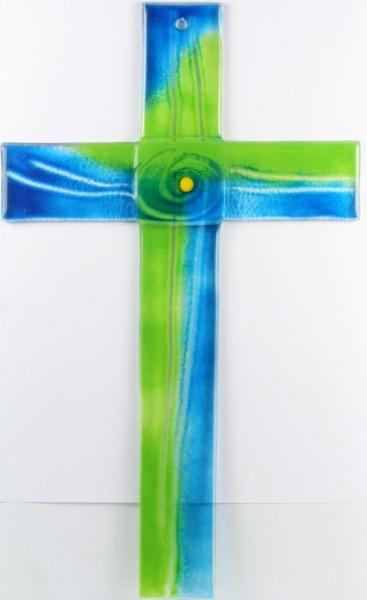 Glaskreuz - Zentrum & Grün-Blau