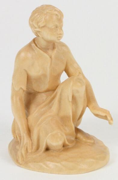 Karl-Kuolt-Krippe - Junge kniend