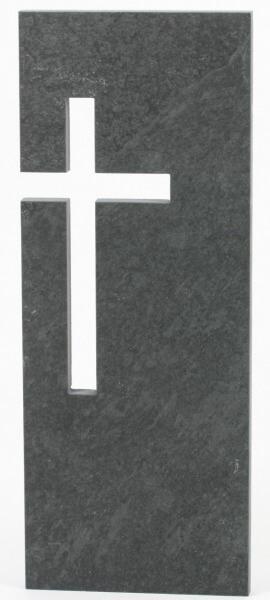 Schiefer-Relief - Kreuz