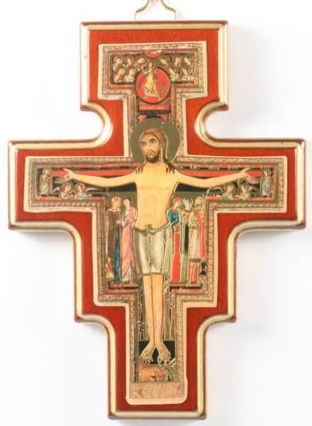 Kreuz - Franziskus & 13 cm
