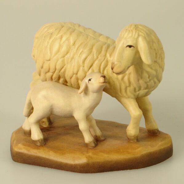 Heilig-Land Krippe - Schaf mit Lamm