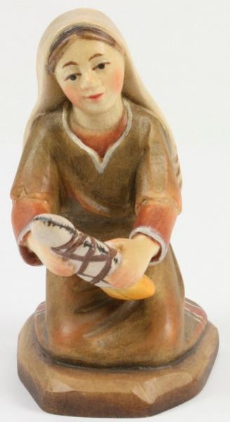 Heilig-Land Krippe - Hirtenmädchen mit Puppe