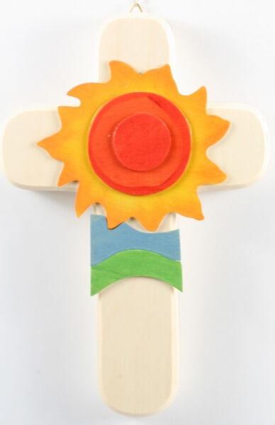 Kinderkreuz - Gott ist unsere Sonne