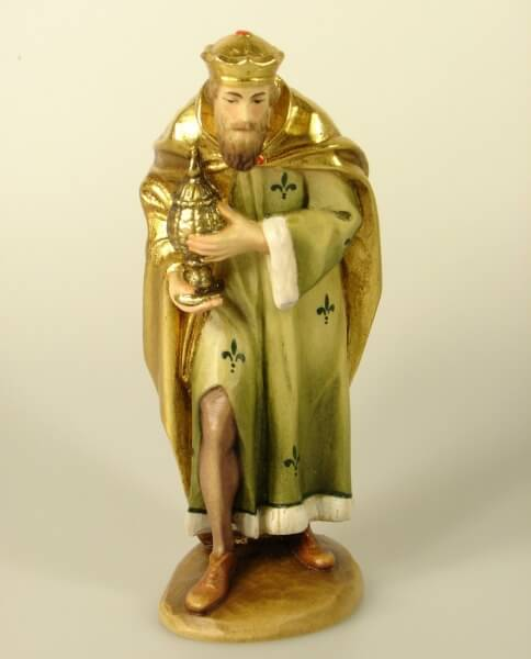 Karl-Kuolt-Krippe - König stehend