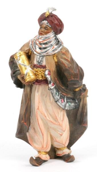 Anri Krippe - König Mohr