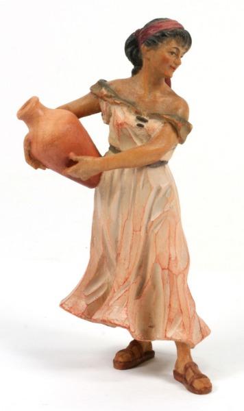 Anri Krippe - Hirtin mit Krug