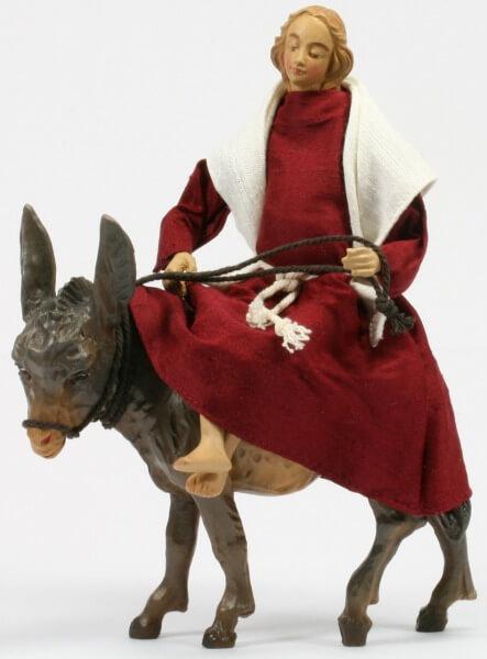 Ruco-Krippe - Maria a.d.Weg/mit Esel