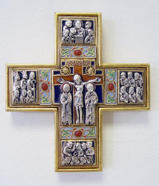 Morató-Kreuz - Kreuz im romantischen Stil