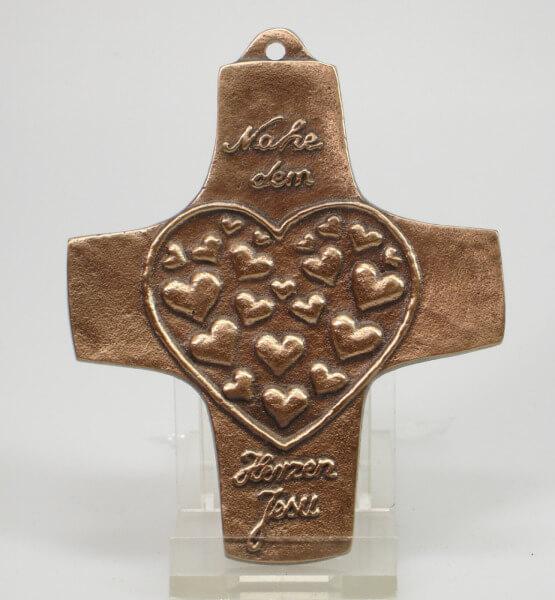 Kommunionkreuz - Herzen Jesu