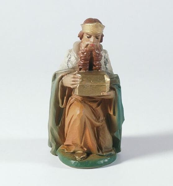 Tiroler-Krippe - König kniend