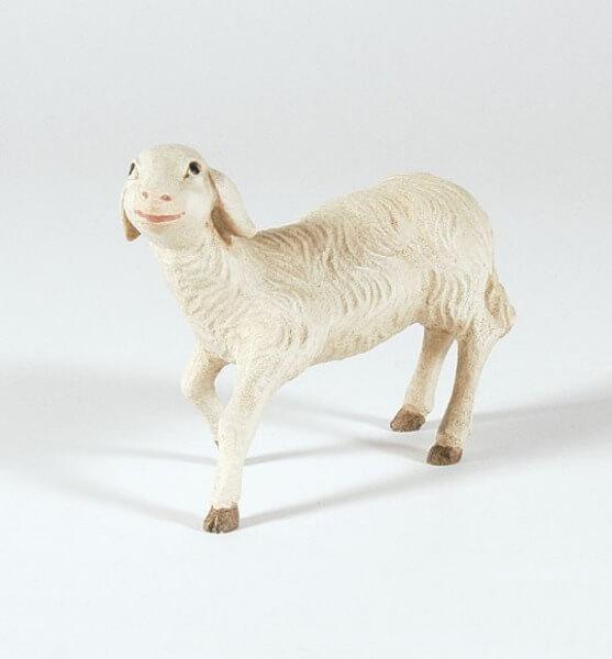 Mesner-Krippe - Schaf schauend