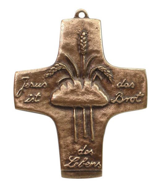 Kommunionkreuz - Brot & Ähren