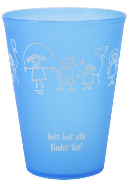 Trinkbecher - Gott hat alle Kinder lieb
