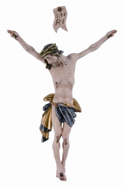 Christuskörper - Korpus Lose & Farbig bemalt