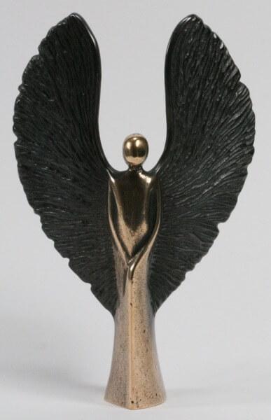 Bronzeengel - Engel mit rauhen Flügeln