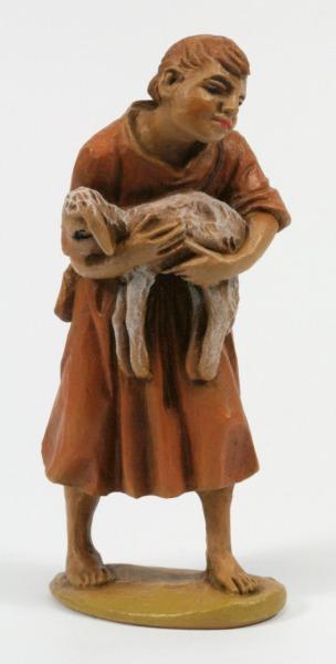 Andrea Krippe - Hirte mit Schaf