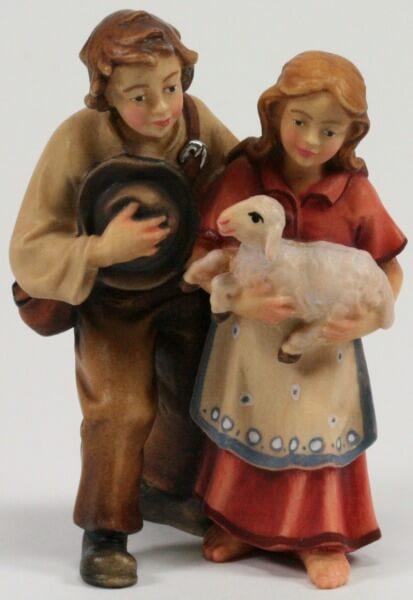 Kostner-Krippe - Kinderpaar