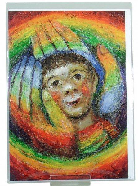 Schmuckkarte - In Gottes Händen