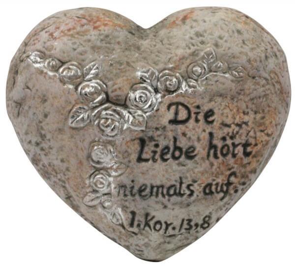 Grabschmuck - Die Liebe hört niemals auf