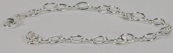 Bettelarmband - Silber & Schlicht