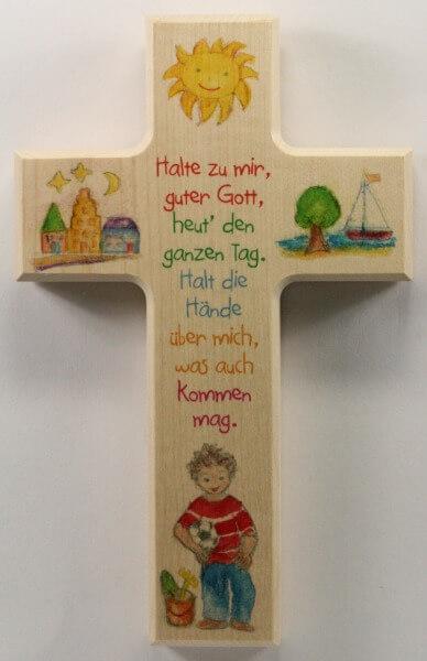 Kinderkreuz - Halte zu mir & Junge