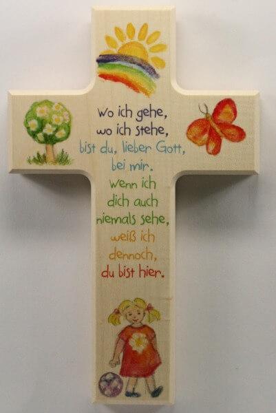 Kinderkreuz - Wo ich gehe... & Mädchen