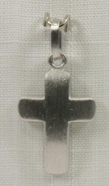 Silber-Kreuz - Abgerundet & Klein