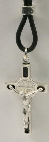 Halskette - Benediktuskreuz