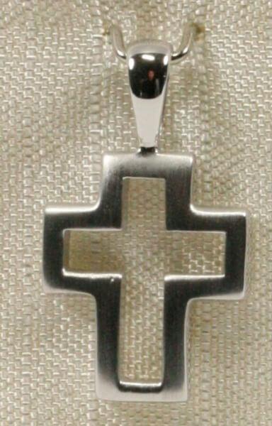 Silber-Kreuz - Kreuz im Kreuz