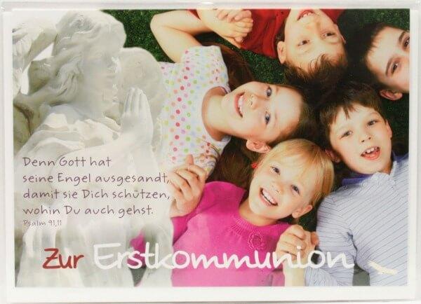 Kommunionkarte - Wohin du auch gehst…