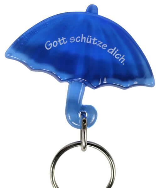 Anhänger - Gott schütze dich & Regenschirm