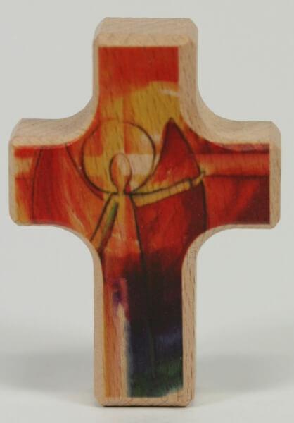 Handschmeichler - Kreuz & Engel des Glaubens