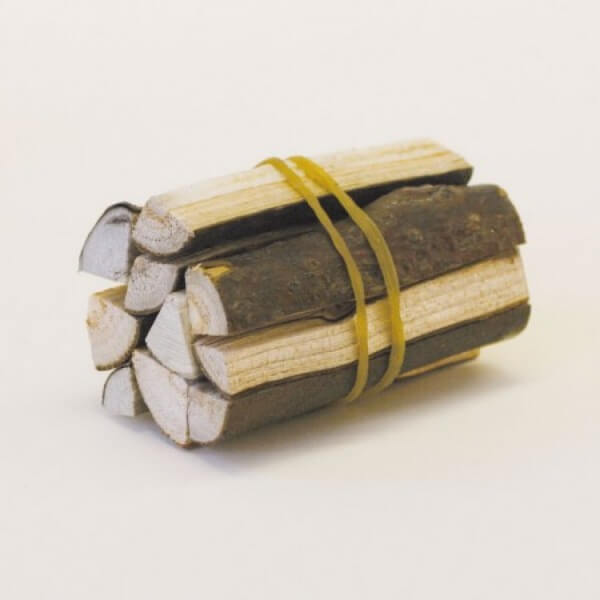 Krippenzubehör - Bündel gestapeltes Holz