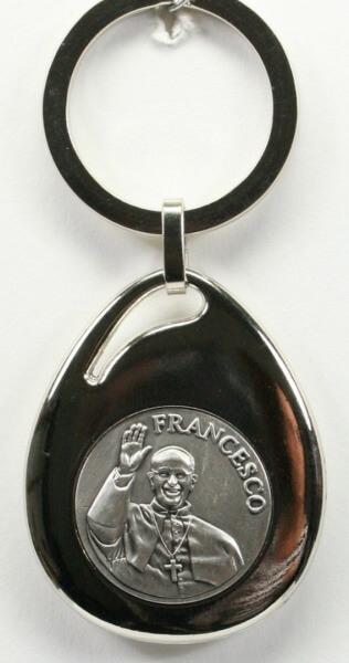Schlüsselanhänger - Franziskus & Oval