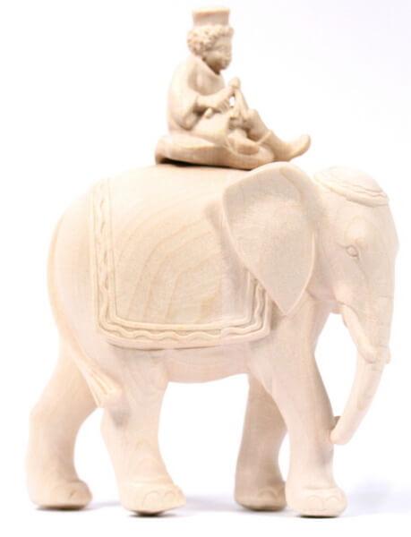 Georg-Krippe - Elefant mit Page(modern)