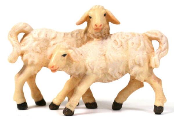 Kostner-Krippe - Lammgruppe