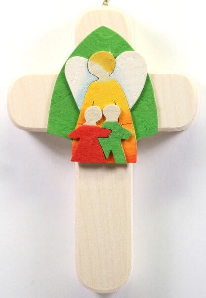 Kinderkreuz - Schutzengel & Kinder