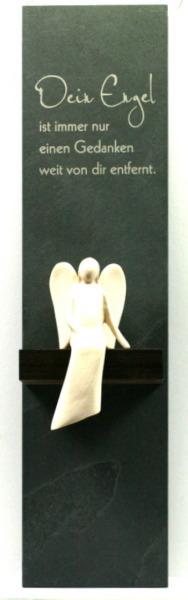 Schieferstele - Dein Engel & Ahornengel