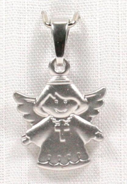 Anhänger - Kleiner Engel & Kreuz