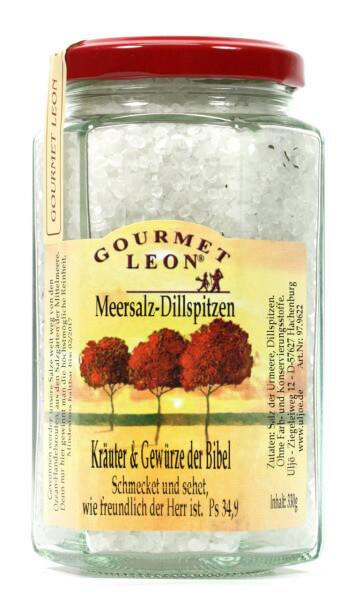 Meersalz - Dillspitzen & Glas